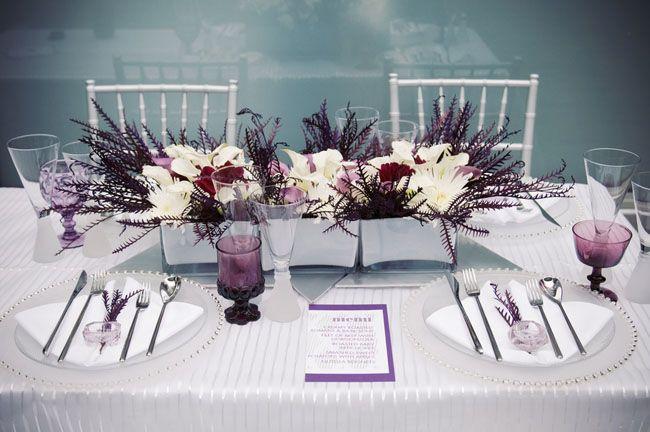 Winter Modern Art Deco Wedding Ideas | Art deco wedding inspiration ...