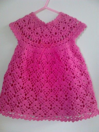Vestido crochet algodón...Eda..I would like to be able to do this