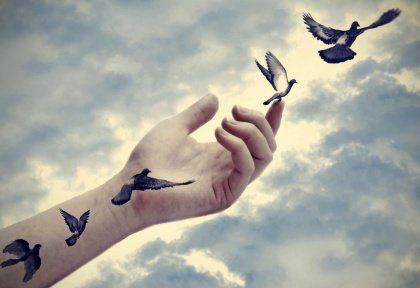 Kasvaminen aikuiseksi opettaa sanomaan hyvästi