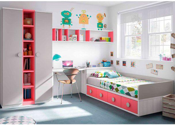 Habitación infantil Compacto 4 cajones armario | Novedades de mueble ...