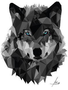 Resultado de imagen para cabeza de lobo pictograma