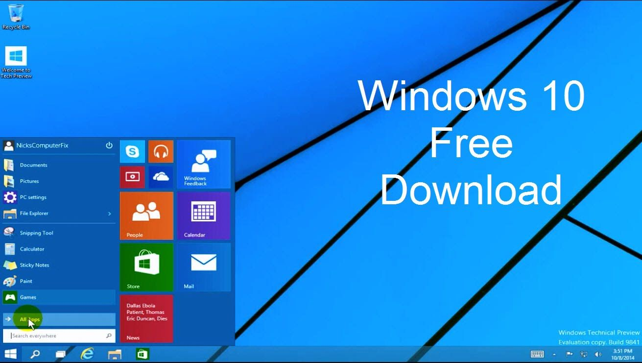 Hack To Download Windows For Free Http Www Techykeeday Com Windows 10 Free Download Full Versi Windows 10 Download Windows 10 Windows 10 Operating System