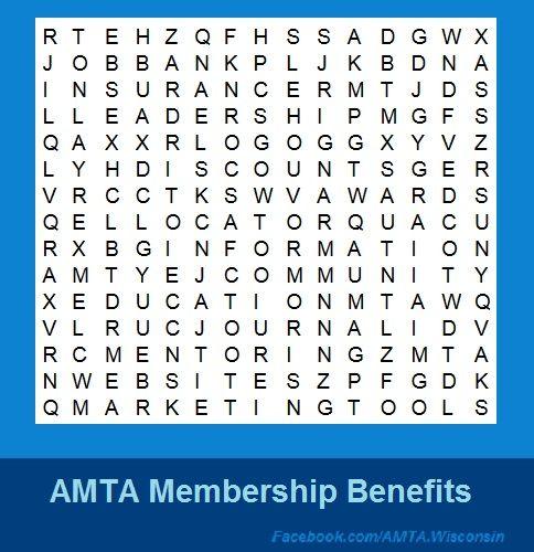 Pin by AMTA Wisconsin on National amta Member Benefits ...