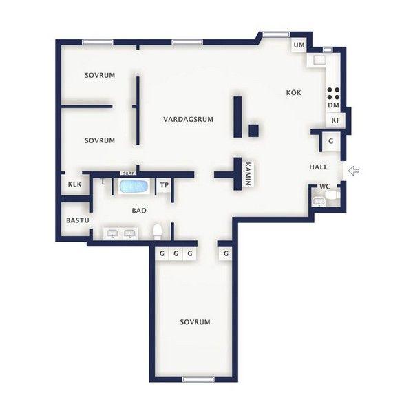 Stupendous Minimalist Apartment Design In Stockholm With Unique Details Download Free Architecture Designs Embacsunscenecom