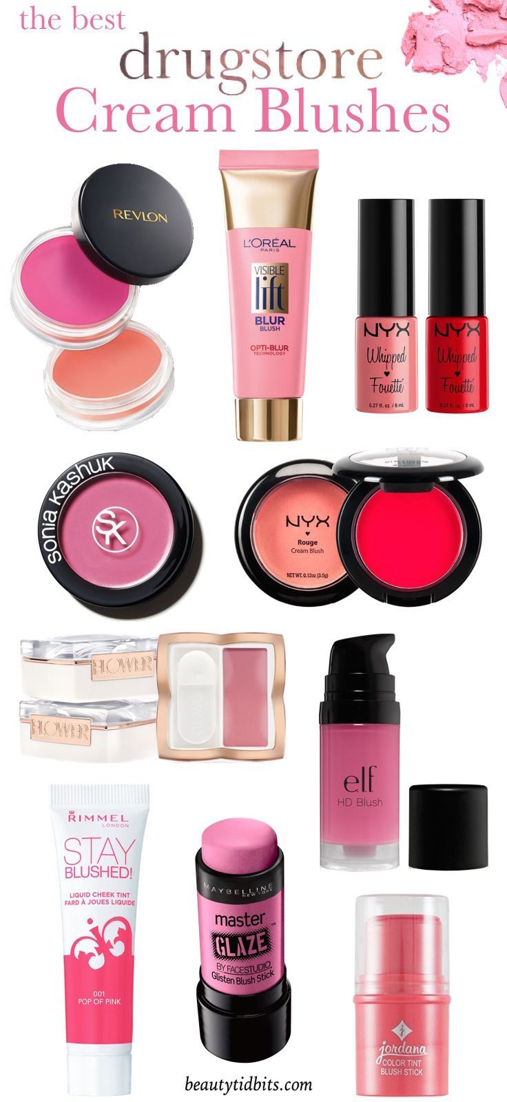 Product Testing: Top 5 Cream Blushes For Any SkinTone