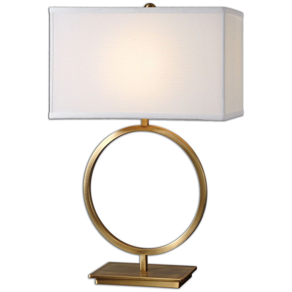 Uttermost Duara Circle Table Lamp 26559-1 | Circle table and Products