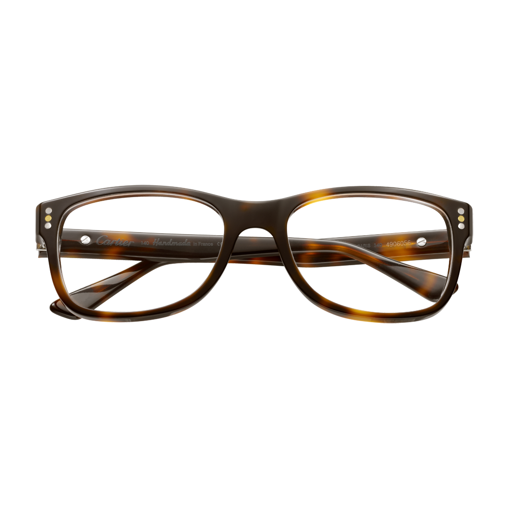 af56a106fe Collection Première Cartier Asian Fit - Tortoiseshell effect composite