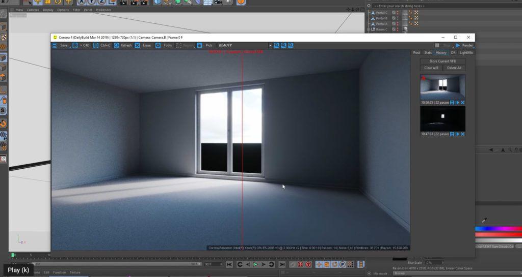 Working With Corona Lighting In C4d