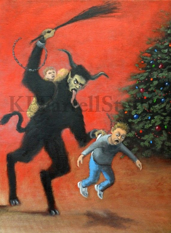 Krampus!! | Krampus card, Krampus, Christmas ornaments