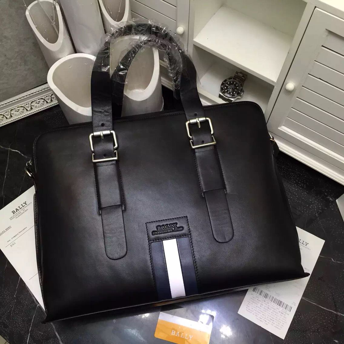 Bally men's handbag BIG SALE on gloluxshop