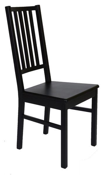 Inspirant Chaise En Bois Noir Pas Cher