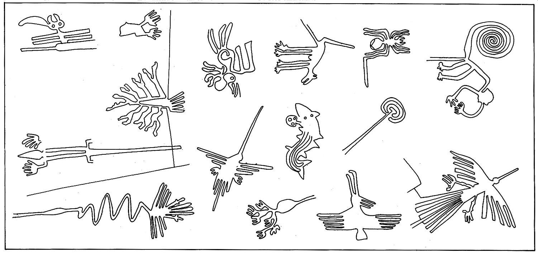 Els Dibuixos De Nazca Peru Amb Mes Detall Lineas De Nazca Dibujo Lineas De Nazca Arte Cultura