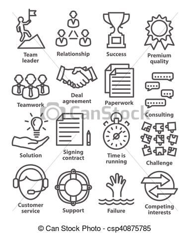 Vector - Business management icons in line style. Pack 10. - stock illustration, royalty free illustrations, stock clip art icon, stock clipart icons, logo, line art, EPS picture, pictures, graphic, graphics, drawing, drawings, vector image, artwork, EPS vector art