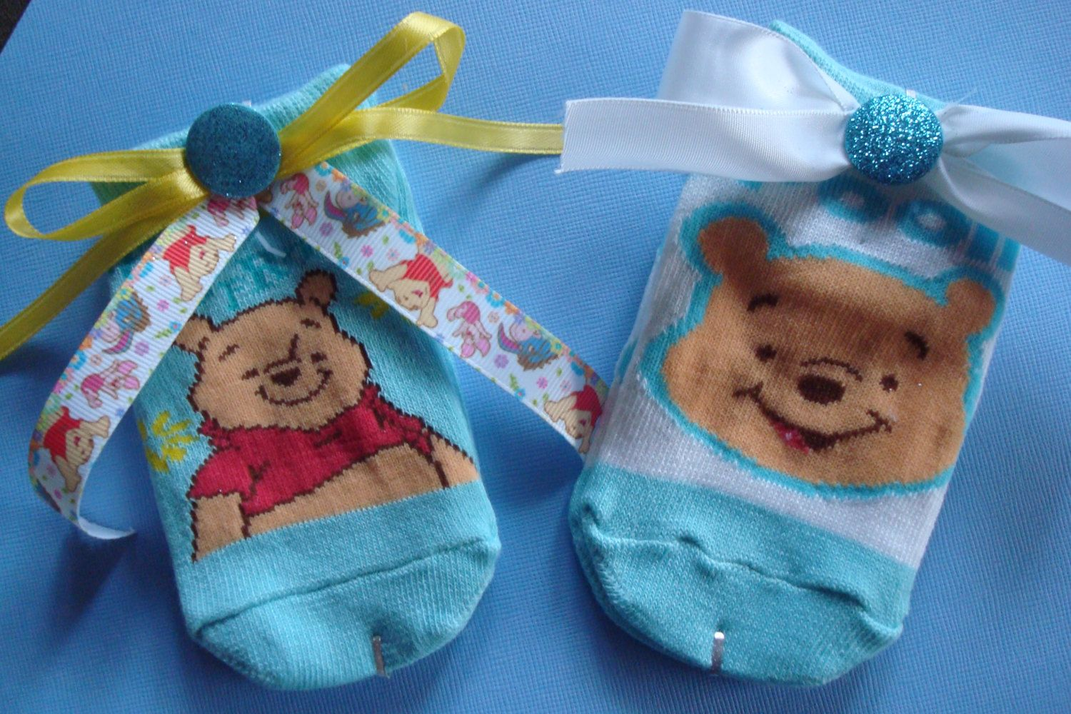 be4649b55641 Winnie The Pooh Themed Baby Shower  New Mom to Be Corsage  Grandma to be  Corsage  Unisex Baby Shower Gift  Unique Shower Decorations Pooh by ...