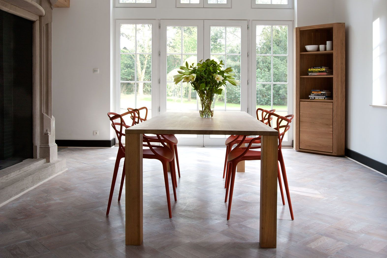 Create A Serene Dining Space With A Minimalist Solid Wood Table