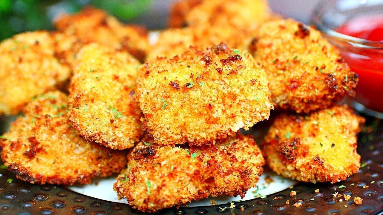 Air fryer Chicken Nuggets Recipe Crispy Chicken Nuggets