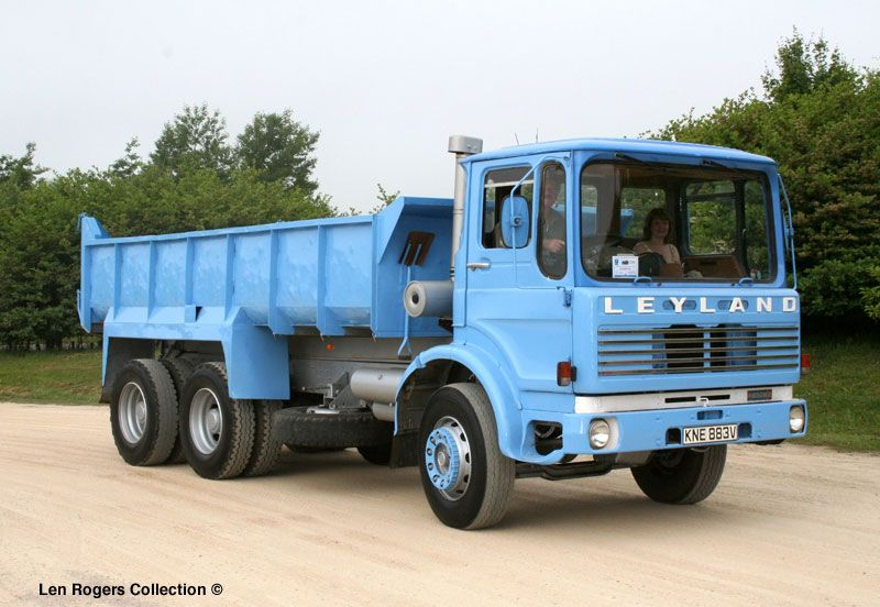Ashok Leyland Trucks On The Roadside Near Kasaragod Kerala India ...