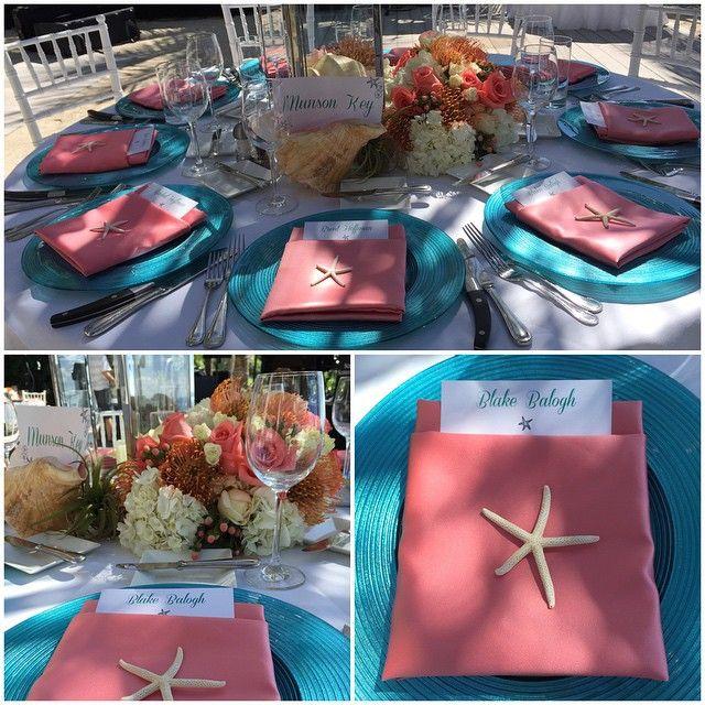 Reception Setup #SwivelGroupEvents #SunsetKey #KeyWest #PrivateIsland @kartz41 @szynskininja @avantgardensmia @invitesbyd