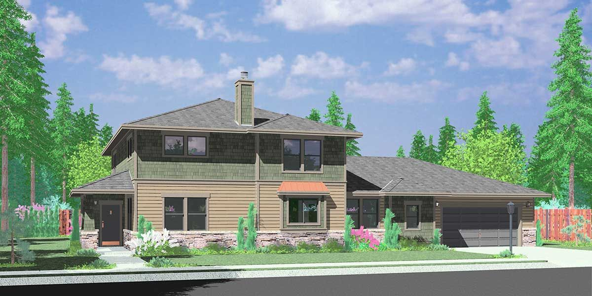 These House Plans Have Dual Master Suites For In Laws Or Guests To Stay An  Extended Length Of Time.