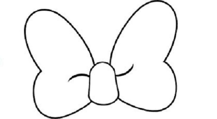Minnie Mouse Hair Bow Coloring Pages In 2020 Minnie Mouse Hair Bows Hello Kitty Colouring Pages Kitty Coloring