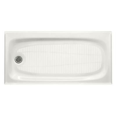 Kohler Salient 60 In X 30 In Cast Iron Single Threshold Shower