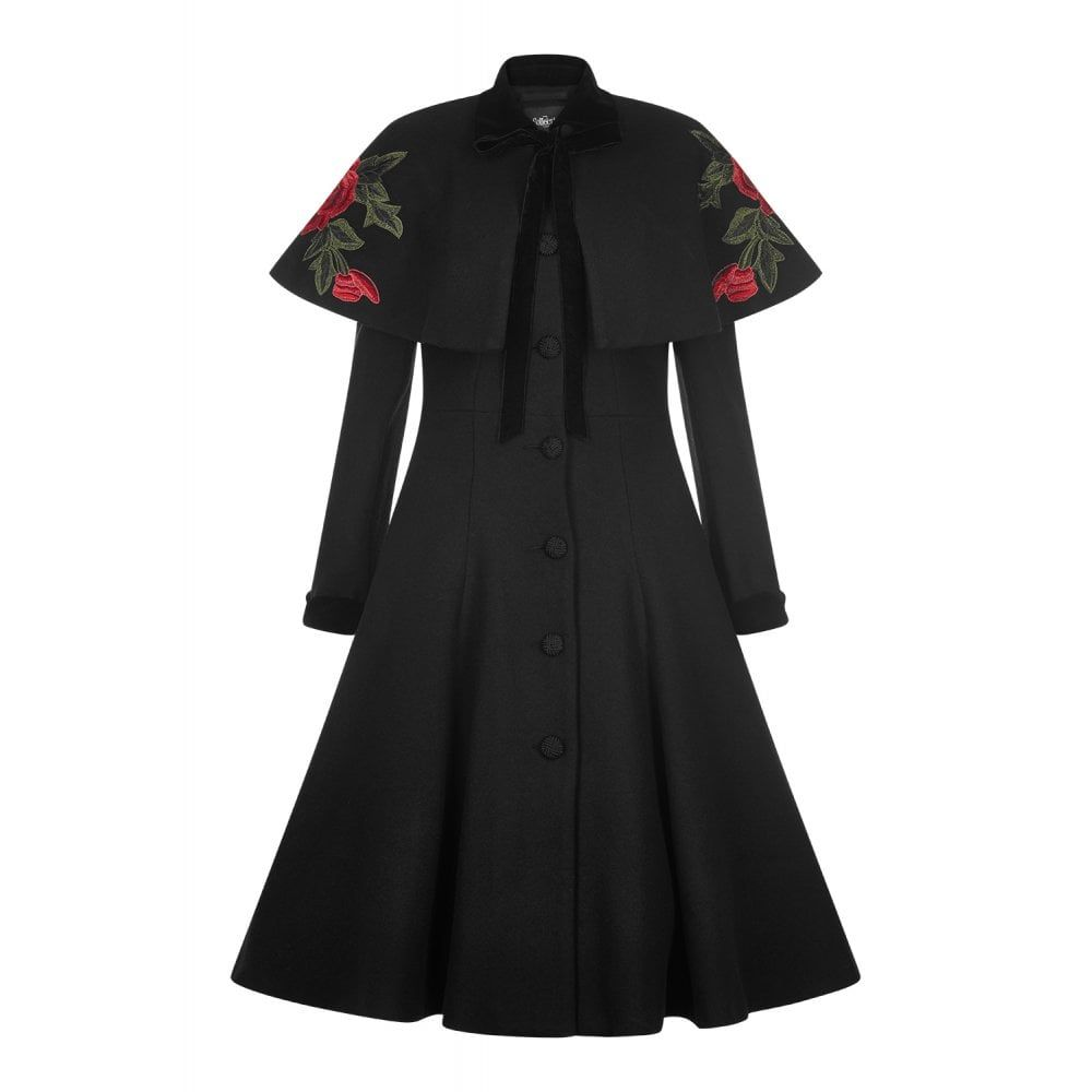 Collectif Vintage Claudia Coat & Cape in 2019 | Vintage coat