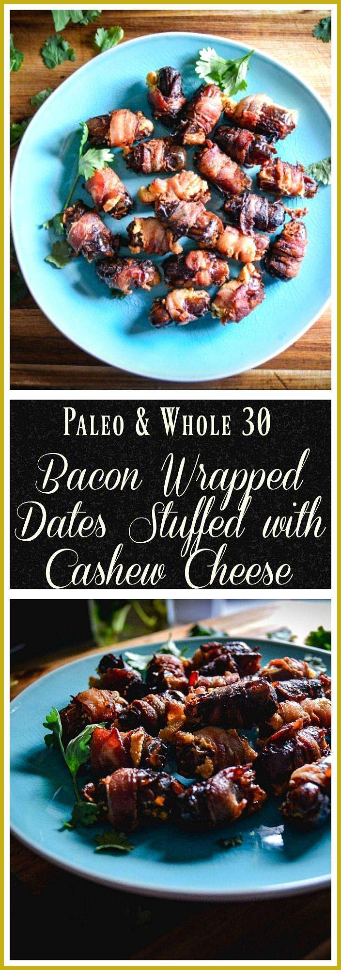 Bacon Wrapped Dates Calm Eats A great holiday appetizer that s creamy sweet and salty Bacon wrapped