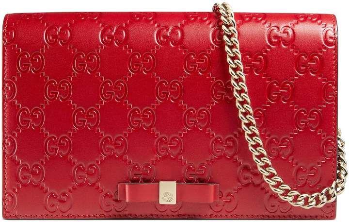 329b63b26d9bfd Gucci Signature mini bag #Women Fashion #Style #Purse #Bag | BAGS ...