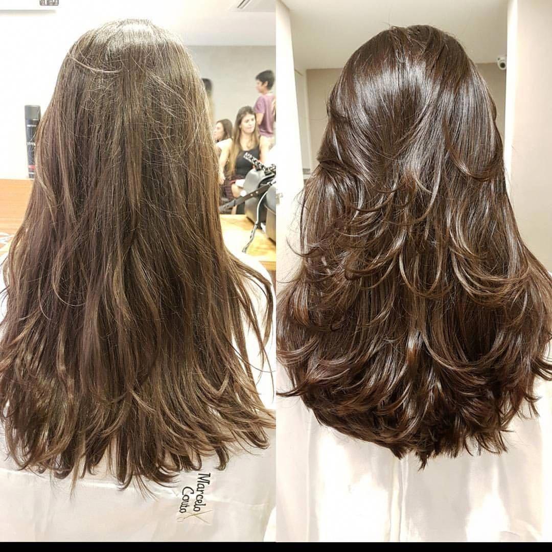 4 318 Curtidas 121 Comentarios Kadu Cesario Facebook Kaducesario No Instagram Fiz A Bastante Long Hair Styles Haircuts Straight Hair Thick Hair Styles