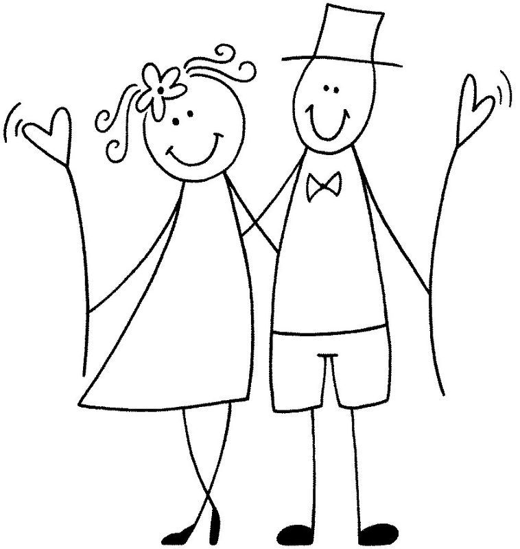 Bildergebnis für brautpaar kartoon | Hochzeiten | Pinterest | Brautpaar, Strichmännchen und Zeichnen