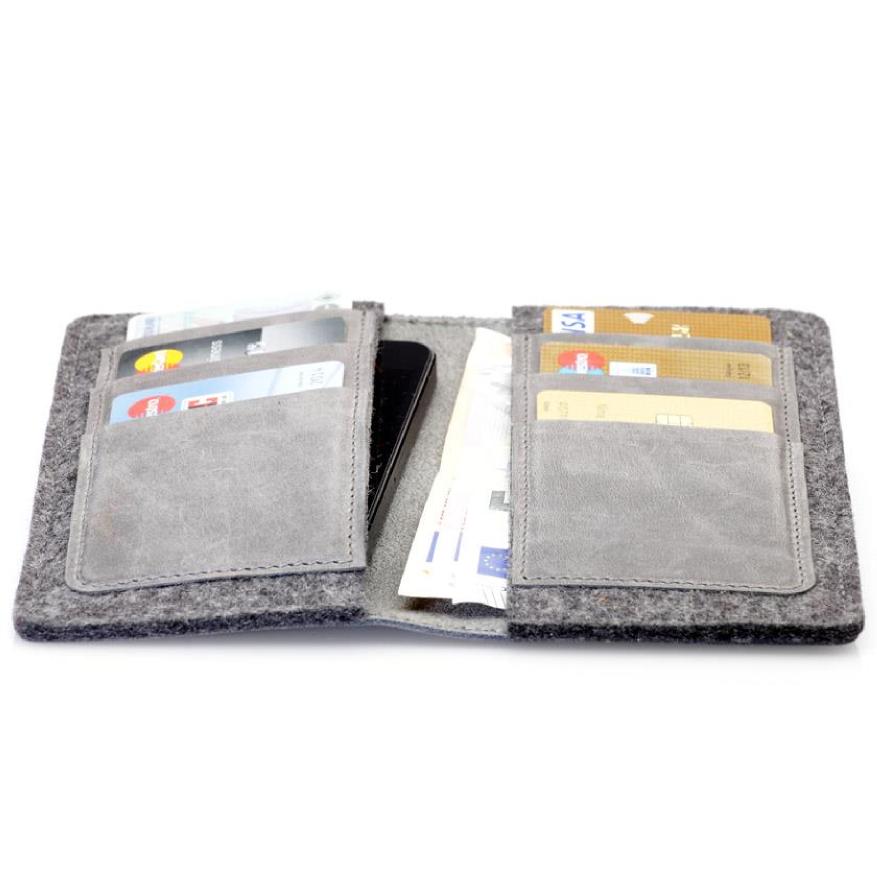 g.5 Wallet für iPhone 5/5s/5c in stone bei Germanmade (Düsseldorf)