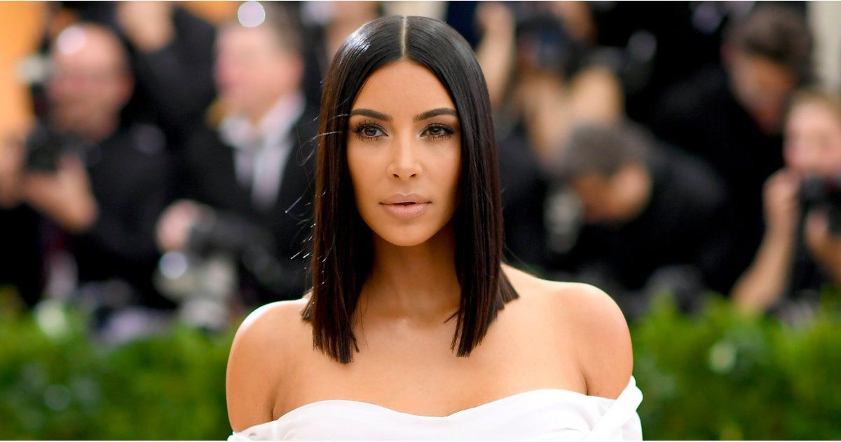 Kim Kardashian Looked Classic Vogue Chic at the Met Gala https://www.popsugar.com/node/43492117
