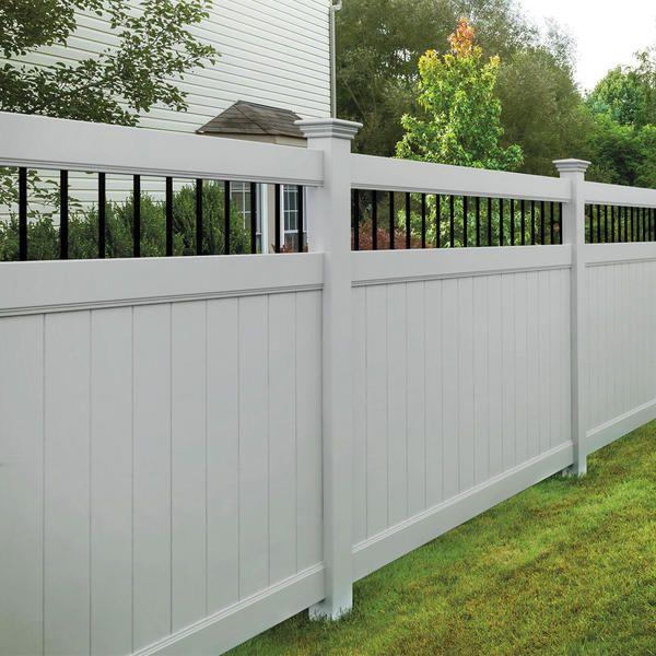 Vinyl Fencing Austin Vinyl Fence Company San Marcos Waco Texas Austex Fence And Deck In 2020 Vinyl Fence Fence Prices Outdoor Decor