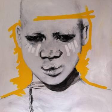 "Saatchi Art Artist Lioda Conrad Fine Art; Painting, ""White beauty"" #art"