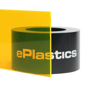 125 X 24 X 48 9097 Fluorescent Yellow Acrylic Sheet Acrylic Sheets Plexiglass Plexiglass Sheets