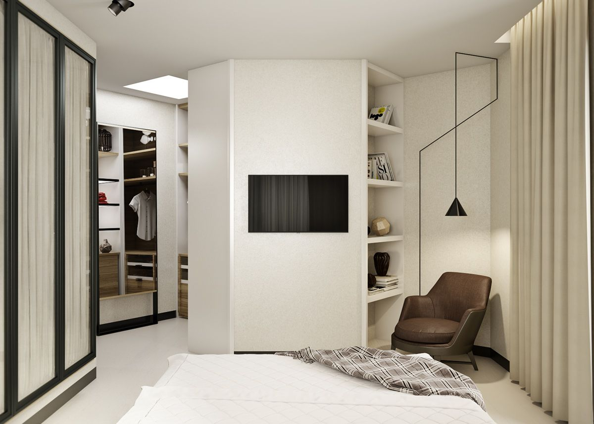 5 Ideas For A One Bedroom Apartment With Study (Includes