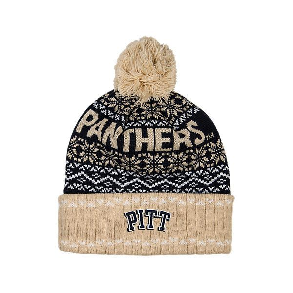 0795ecef9 Top Of The World Pitt Panthers College Ugly Sweater Knit Hat ($2.99 ...