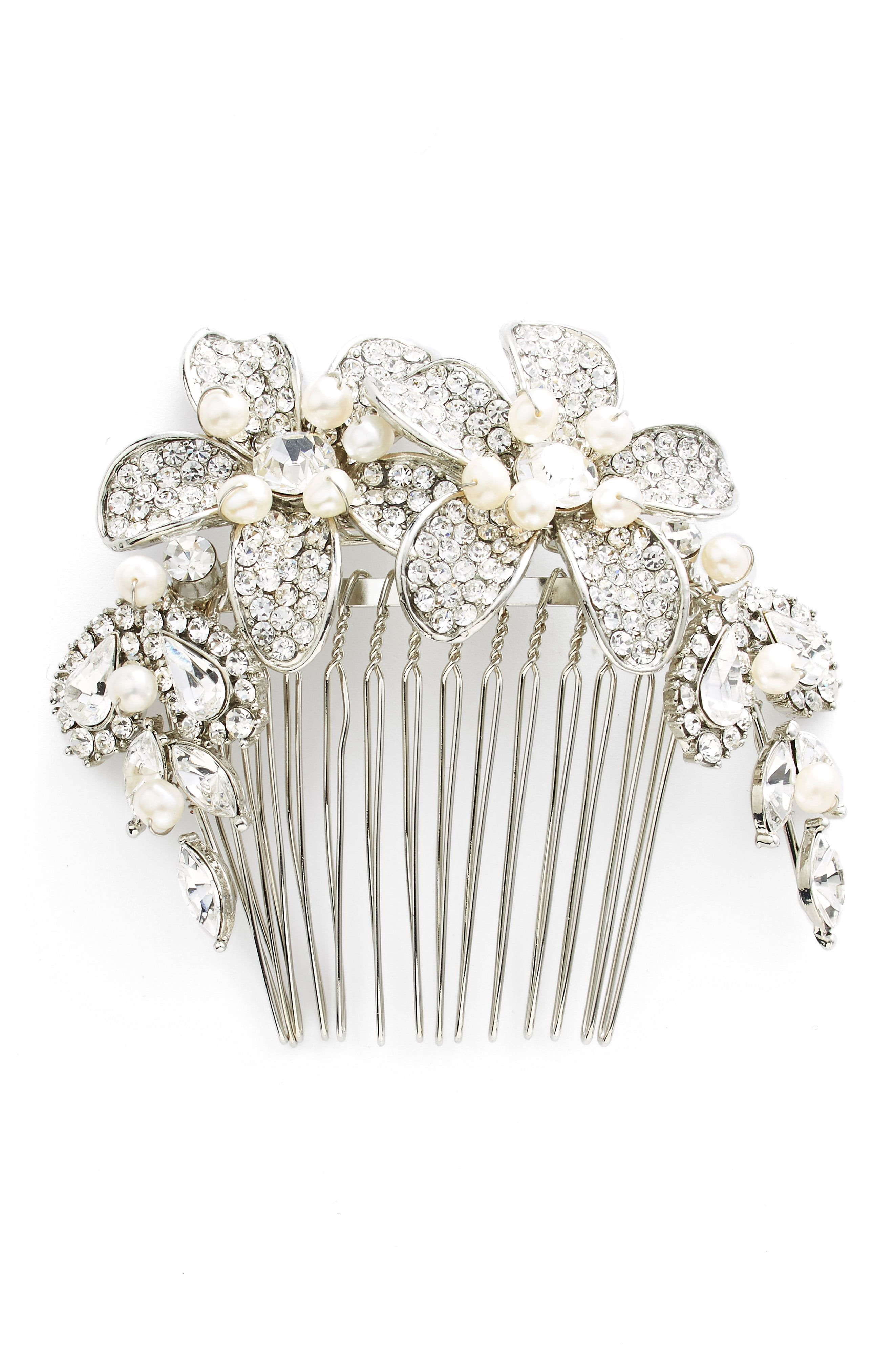 4d616fd7e WEDDING BELLES NEW YORK Bead   Crystal Head Comb available at  Nordstrom