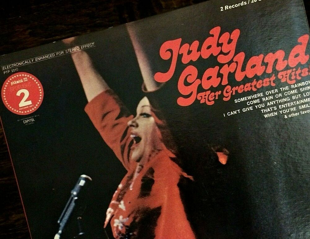 Judy Garland Her Greatest Hits 2 Lp Set 12in 33 3rpm Gatefold Cover Excellent Pop Judygarland Vinylrecords Judy Garland Greatest Hits Judy Garland Show