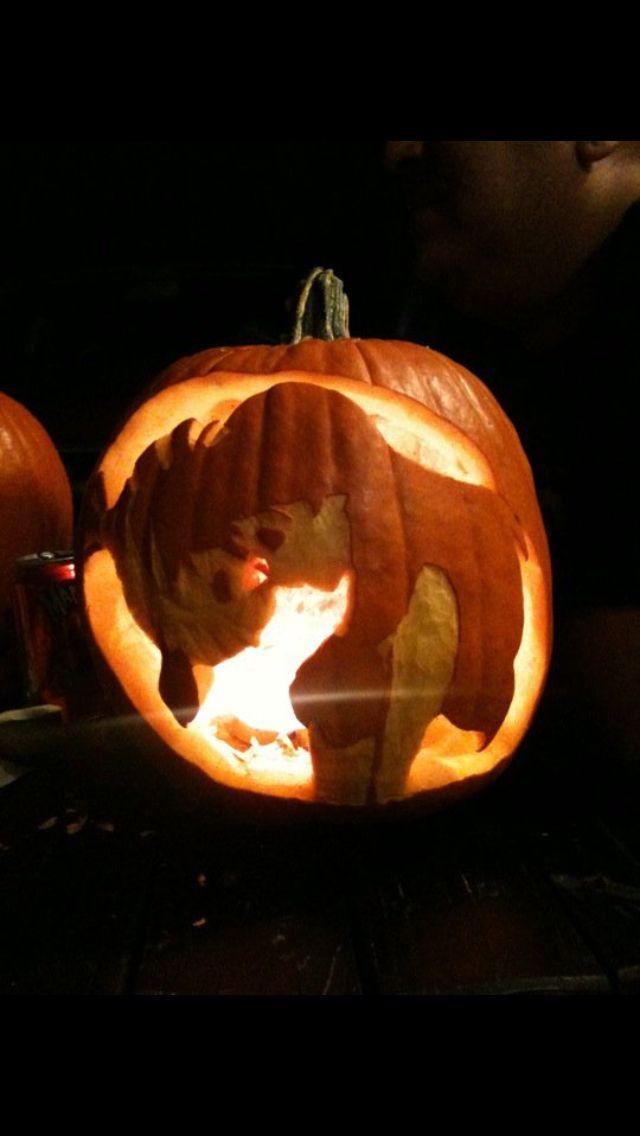 The Little Mermaid Pumpkin Carved Pumpkins Pinterest