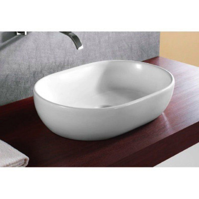 Caracalla By Nameeks Ca4916 Bathroom Sink White Caracalla