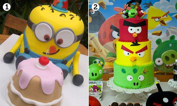Festa infantil: bolos decorados e temáticos - Família - MdeMulher - Ed. Abril