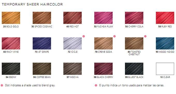 Clairol jazzing temporary hair color shades spice up colored permed and relaxed with also products rh pinterest