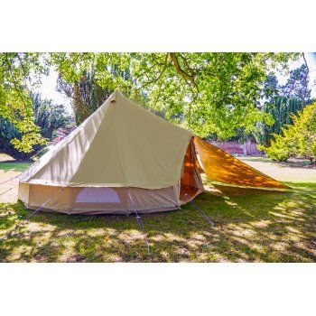Canvas Tent Tarp available in a range of colour\u0027s and patterns to match your Bell Canvas Tents from Boutique C&ing.  sc 1 st  Pinterest & Bell Tent Triangle Tarp - Sandstone | Camping | Pinterest | Tents ...