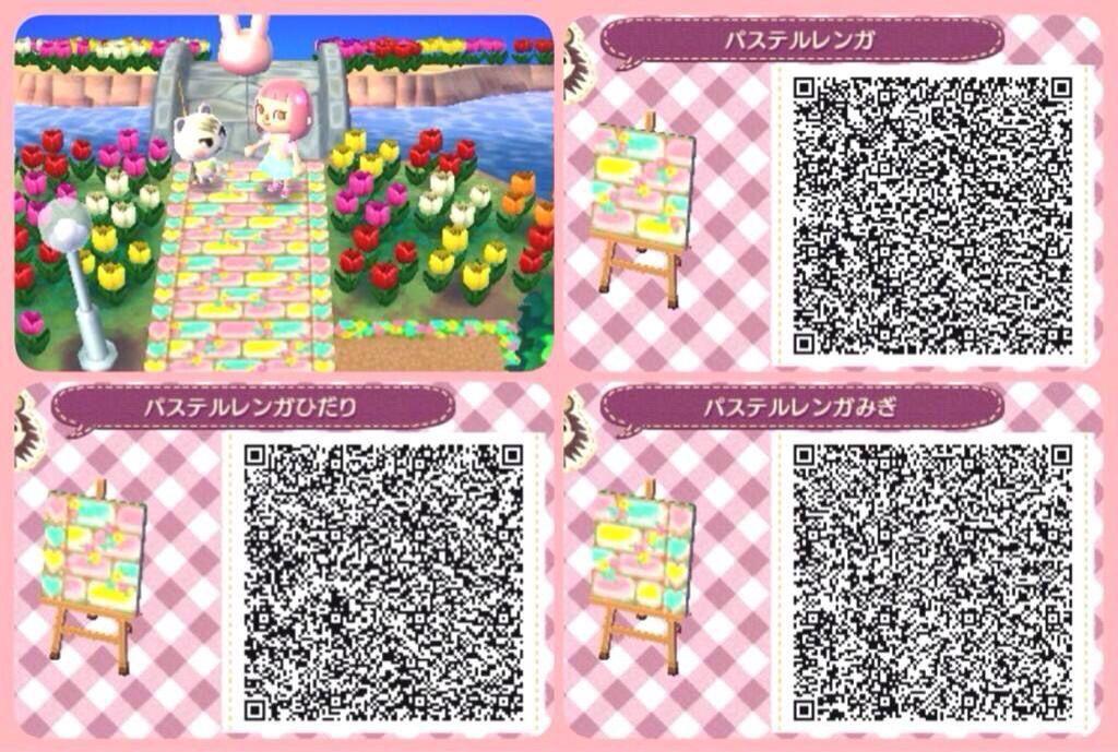 Acnl Tiles Pastel Animal Crossing 3ds Animal Crossing Animal