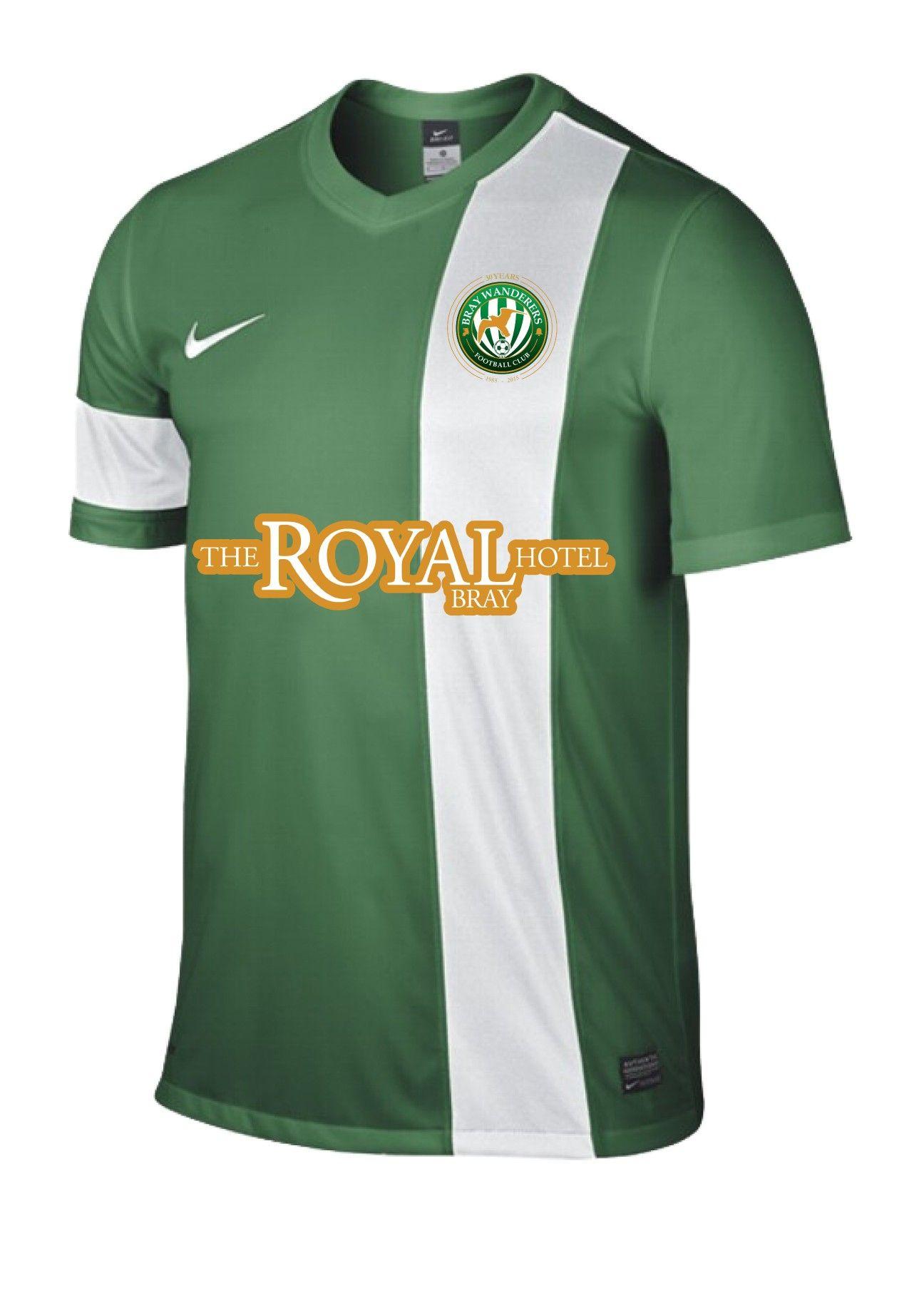 7e5d5ab4882b1 Bray Wanderers Home Jersey | Football | Football, Home, Wander