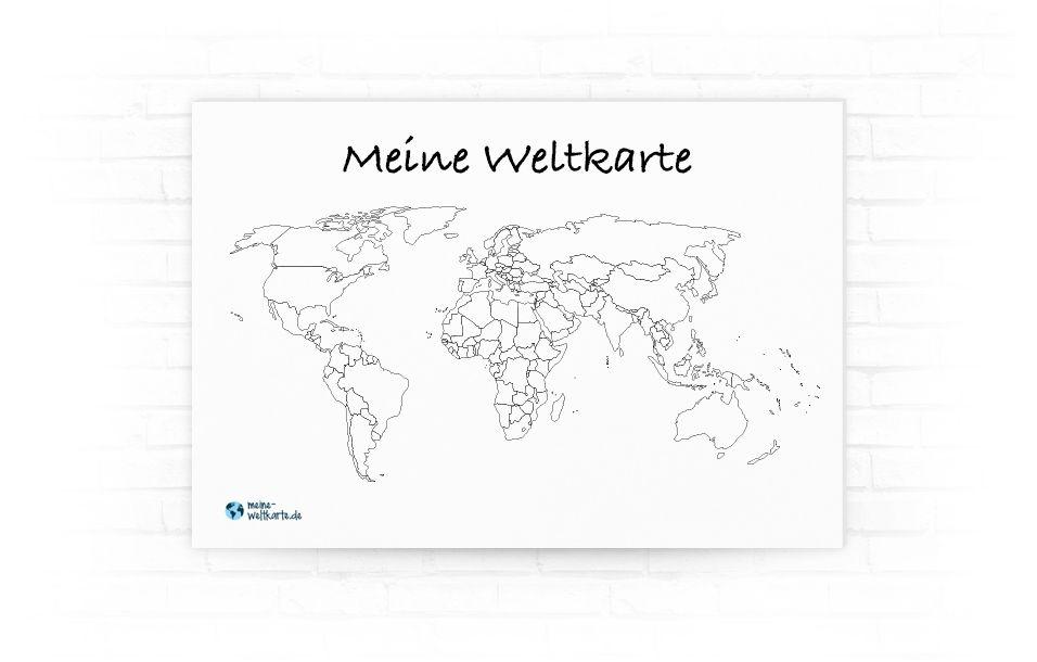 Niedlich Malvorlage Der Weltkarte Galerie - Ideen färben - blsbooks.com