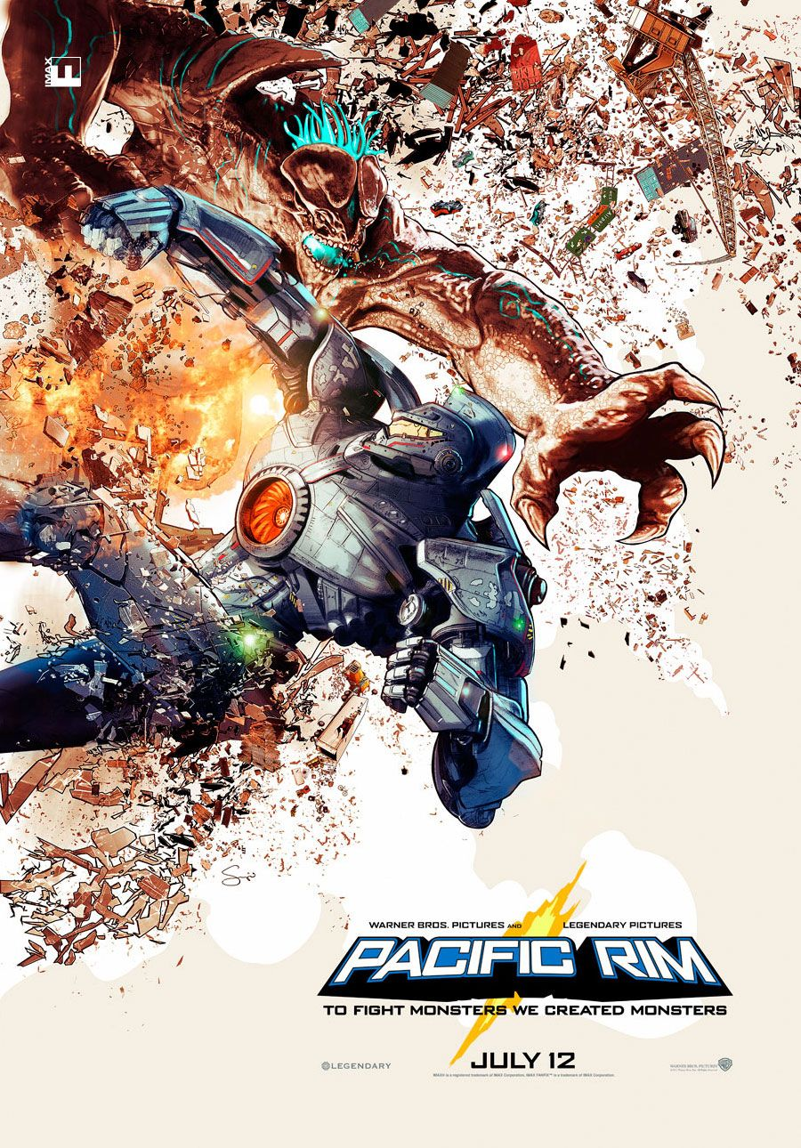 Pacific Rim - Awesome movie in a very long while! We need more movies with this kinda quality! Because its one of the best movies ever!!!!!!!!