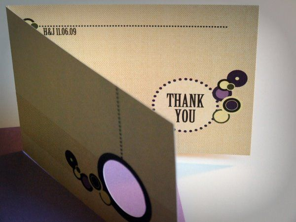 Moh Ho S Thank You Cards Downloadable Template Included Wedding