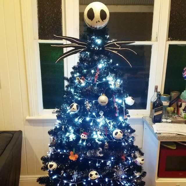 The Epic Disney Christmas Trees That Every Fan Will Obsess Over - the nightmare before christmas decorations